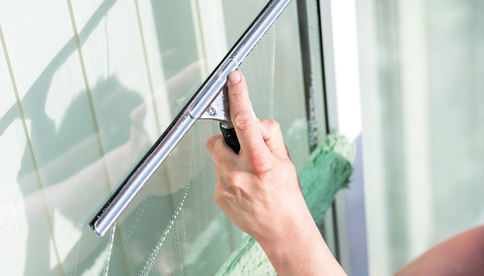 Kaiser | HausputzMitSystem Fensterputzen
